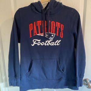 New England Patriots Women's Hoodie Sweatshirt